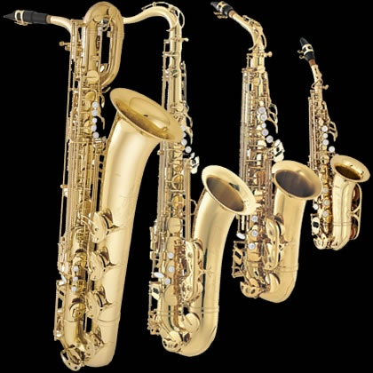 Family of saxophones (all of them)