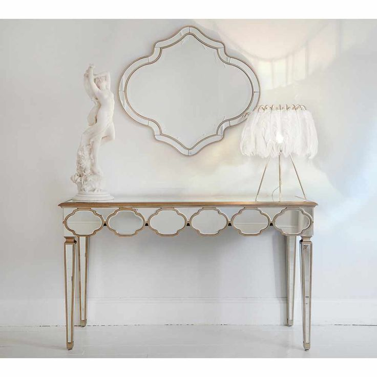 The French Bedroom Company Alameda Mirrored Console 344 best Gold Furniture and Accessories images on