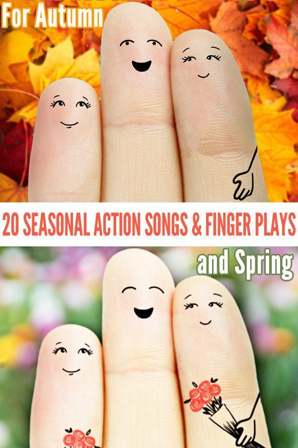 20 Seasonal Finger Plays Amp Action Songs Spring And Autumn