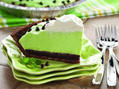 Lucky You Mint Pie