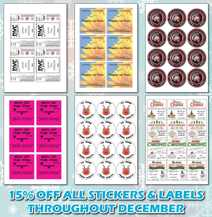 #SaleSunday #Stickers #Labels #DecemberSale #Custom #Personalised #Offer www.aquaboxdesign.co.uk www.facebook.com/aquaboxdesign