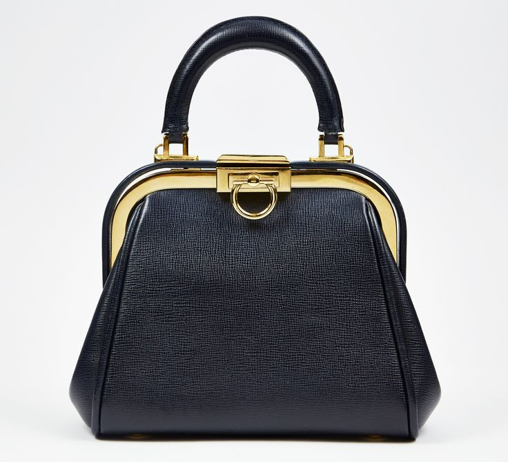 Christian Dior Navy Handbag