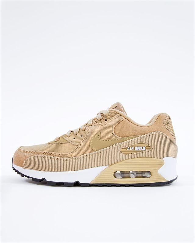 le dernier 36828 7e8d0 Nike Wmns Air Max 90 Leather | 921304-200 | Brun | Sneakers ...