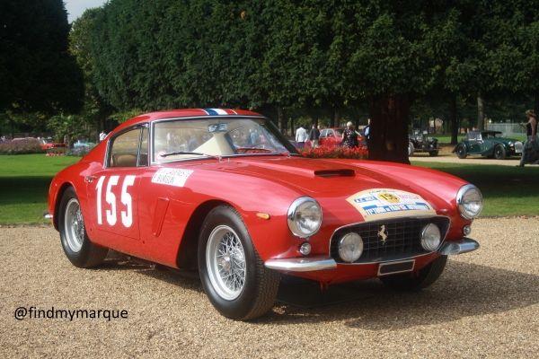 Ferrari 250GT SWB Barchetta - Concours Hampton Court 2014