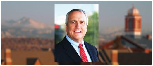 Former Governor Bill Ritter came to Regis to speak about a plan for cleaner energy.
