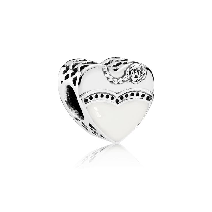 PANDORA | Our Special Day, Black & White Enamel