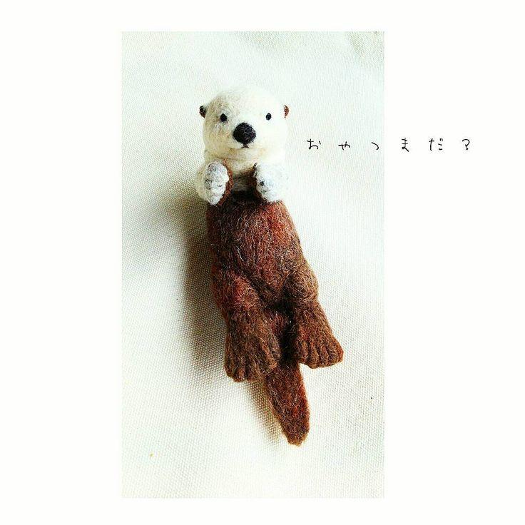 まるで本物♡羊毛フェルトのリアルアニマルが凄い! | Handful