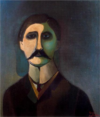 Marcel Proust by Richard Lindner