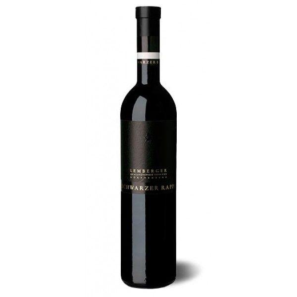 Edel und lecker: Lemberger QbA trocken Barrique - Edition Schwarzer Rappe #Wein #Ostern #Geschenk
