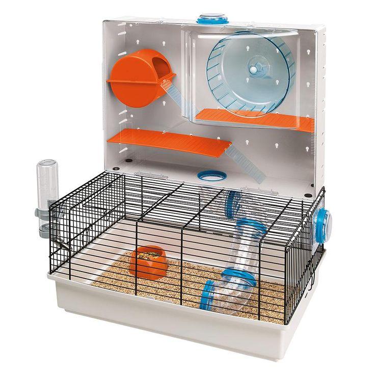 Gaiola Ferplast Para Hamsters Olímpia  Seu hamster é hiperativo e adora brincar? A Gaiola Ferplast Para Hamsters Olímpia foi feita para ele!  POR R$ 299,99 OU 6x de R$ 50,00