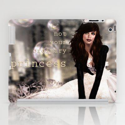 Not your ordinary princess iPad Case by Elvestidordelolita - $60.00