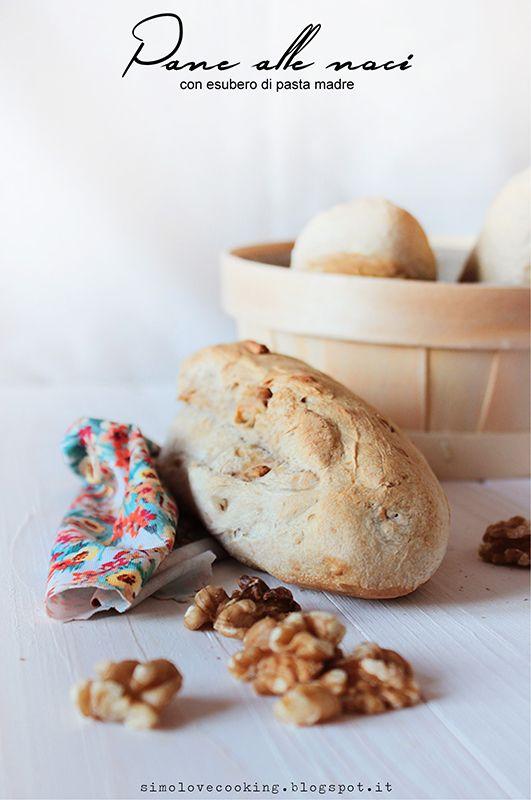 pane alle noci (con esubero di pasta madre)