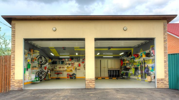 Идеальный гараж при доме от GarageTek в программе Фазенда на 1 канале (б...