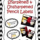 This product contains labels for your classroom.  Your children will know where to go to get the sharpened pencils, then where to place broken penc...