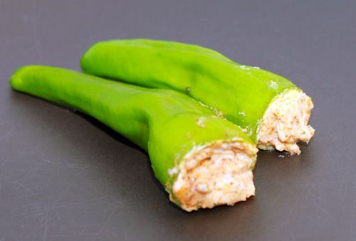 Cajun Cream Cheese Stuffed Anaheim Peppers Recipe from Chili Pepper Madness