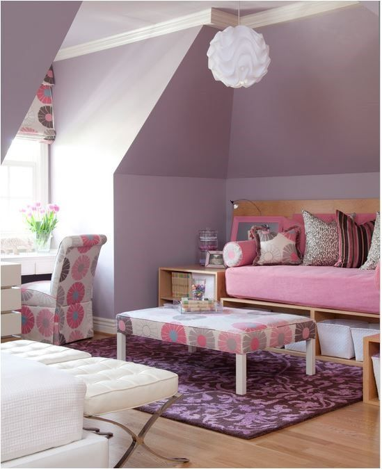 Best 25 lavender girls rooms ideas on pinterest lavender girls bedrooms girls room paint and - Modern purple bedroom colors ...