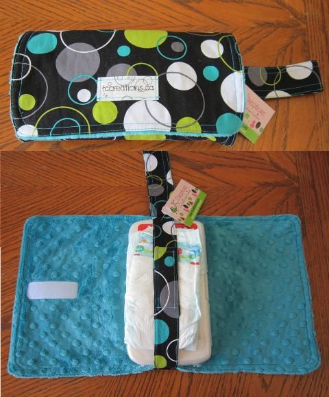 """Diaper Carriers are a great """"grab and go"""" item.They also double as a change pad, for those places you don't want to put baby on!"""
