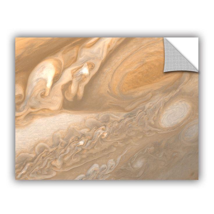 ArtWall ArtAppealz Astronomy NASA's Jupiter, Removable Wall Art Mural