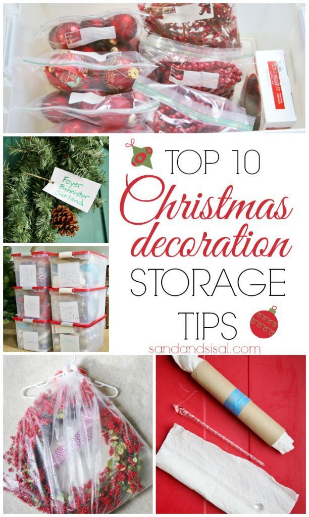 Top 10 Christmas Decoration Storage Tips