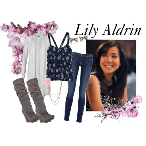 Love Lily Aldrin's style