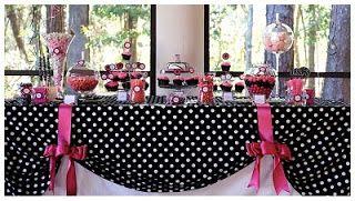 Feliz Cumple.com.py: Más Ideas para decorar tu Candy Bar.