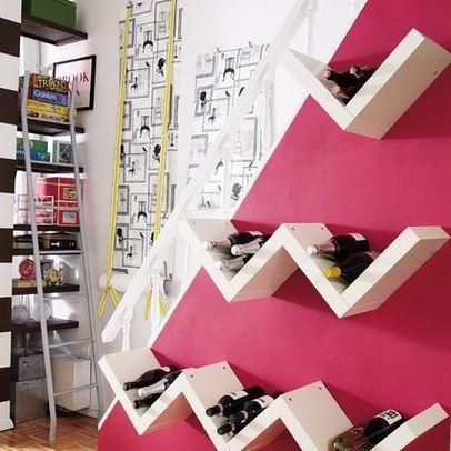 9 best Wine Bar Ideas images on Pinterest | Bar ideas, Wine storage ...