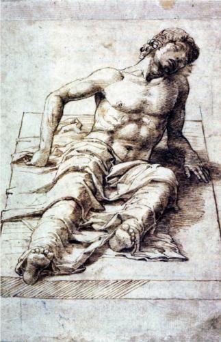 Study for a Christ - Andrea Mantegna