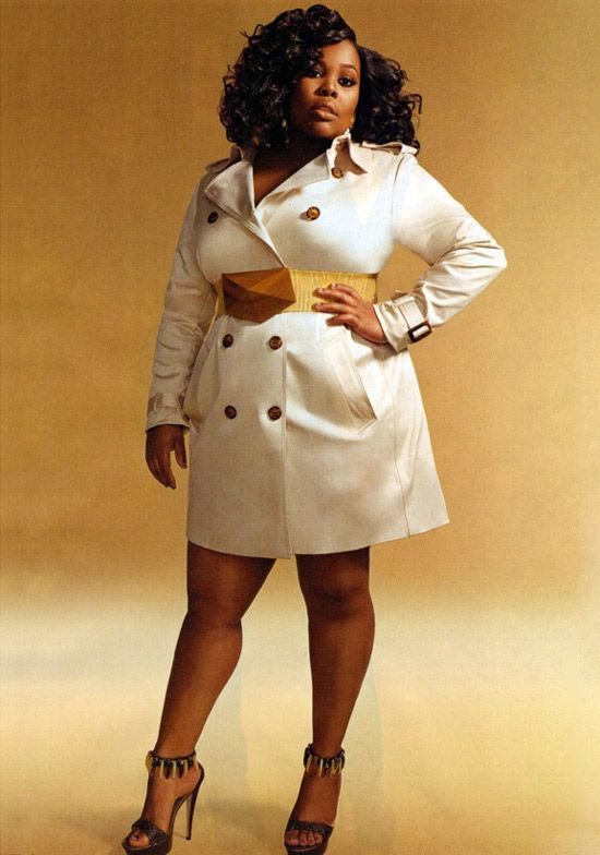 Amber Riley Buttons Up in Essence Magazine, March 2011