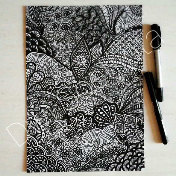 My latest doodle drawing.. =) ♥