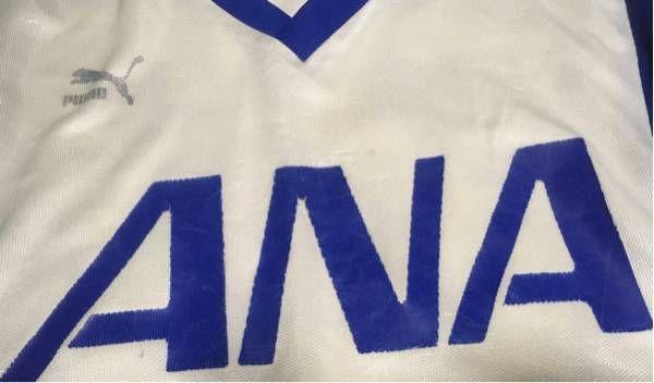●支給品●全日空サッカークラブ(横浜Fマリノスの前身のひとつ)試合用シャツ_画像2