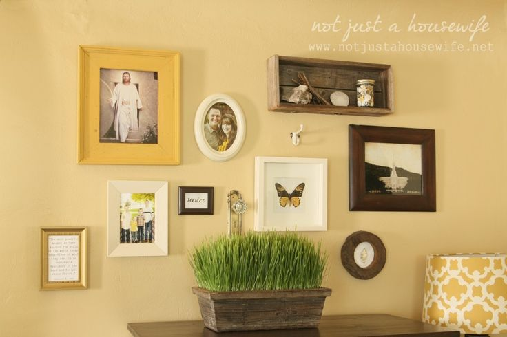Gallery Wall in my Family Room