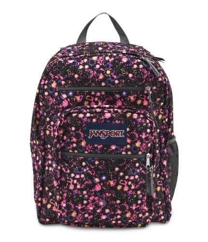 Jansport Big Student 34l Backpacks Pink Pansy Ditzy