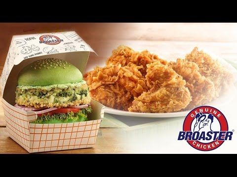 Our Foodistani tried the #Chicken tasting platter, #PalakPaneerBurger and a lot more at #GenuineBroasterChicken.