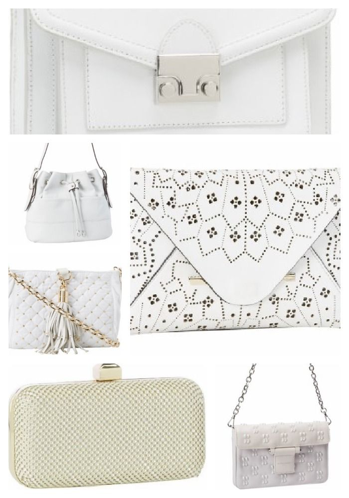 White Handbags