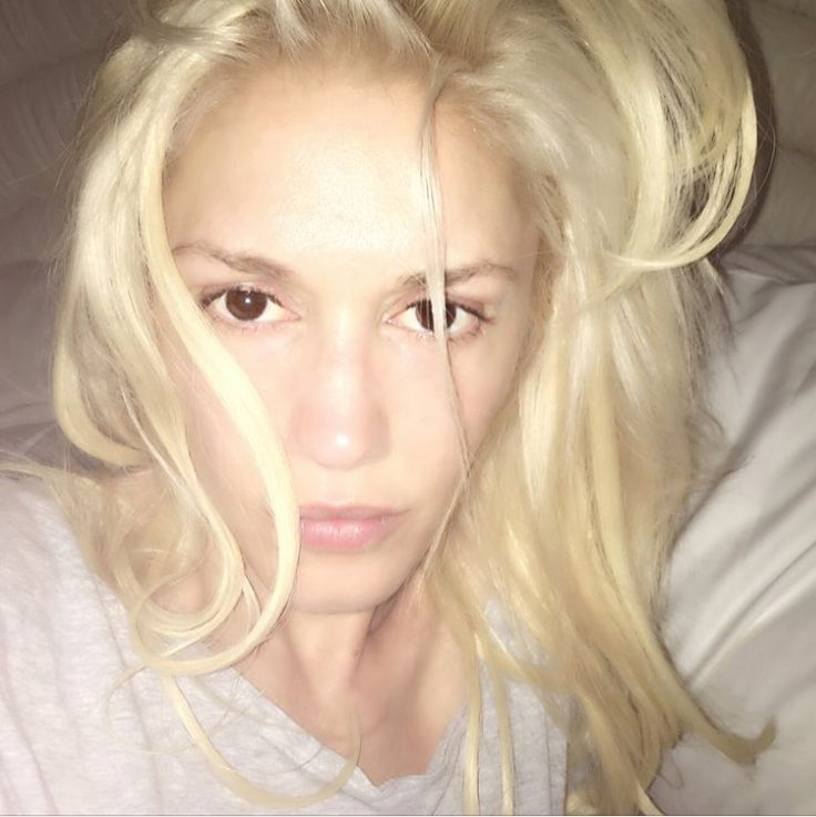 Bare-Faced Celebs: The Best No-Makeup Selfies on Instagram - Gwen Stefani  - from InStyle.com