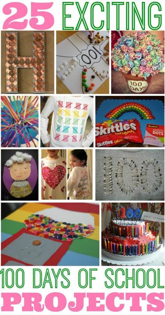 25 Best 100 Days of School Project Ideas