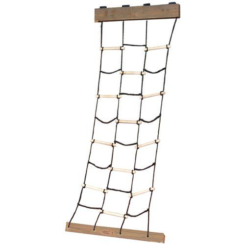 Climbing Cargo NetClimbing Cargo NetClimbing Cargo NetThe Climbing Cargo Net is a great climbing accessory that can be easily added to Swing-N-Slide Play Sets. Constructed of durable nylon rope and wooden dowels. Weight Limit: 150 lbs. Helps build endurance and strength while providing hours of fun.Features/SpecificationsPromotes coordination, balance, and strengthClimbing cargo net is constructed of nylon rope and strengthWeight limit of 150 poundsRecommended for ages 3-10 yearsSome…