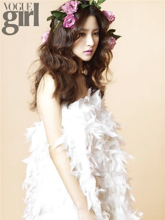 Kim So Eun in Vogue Girl Korea