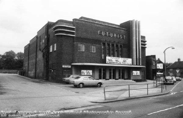 Futurist Cinema, Valley Road, Basford, 1976