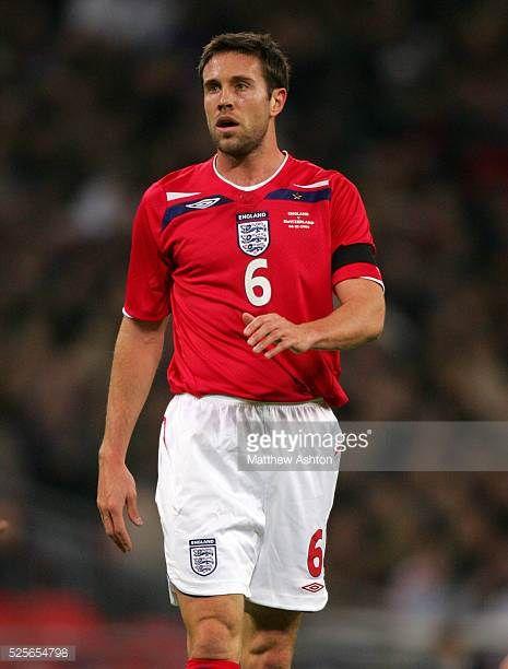 Matthew Upson of England during the international friendly between England and Switzerland at Wembley Arena London England UK