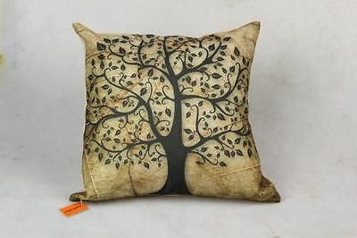 41cm Tree of Life Cushion / Throw Pillow -with concealed zipper & cushion insert