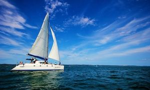 Groupon - Luxury Yacht Charter with Lunch for One ($ 69), Two ($135) or Four ($269) with Brisbane Yacht Charters (Up to $680 Value) in Cleveland. Groupon deal price: $69
