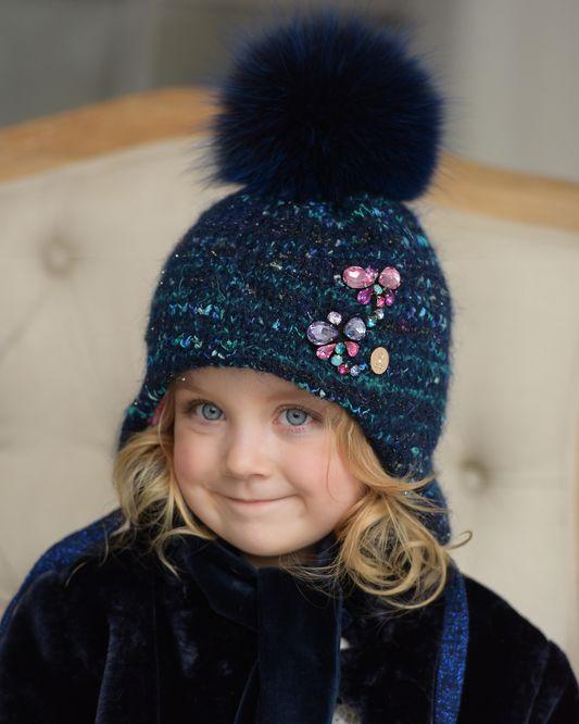 Зимние шапочки для детей | Купить теплые детские шапки 2018 Dan&Dani и Tricotier оптом