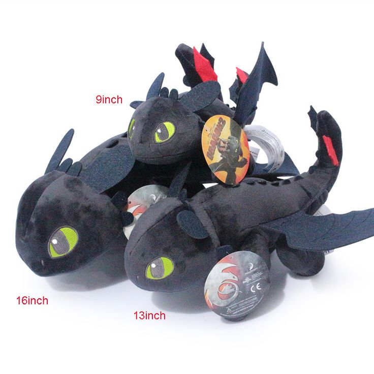 16inch 40cm How to Train Your Dragon Plush Toys Toothless Night Fury Soft Doll For Children Free Shipping #>=#>=#>=#>=#> Click on the pin to check out discount price, color, size, shipping, etc. Save and like it!