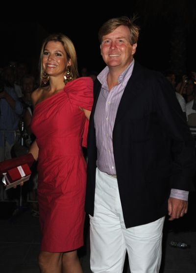 A great looking royal couple Queen Maxima and King Willem Alexander of the Netherlands.