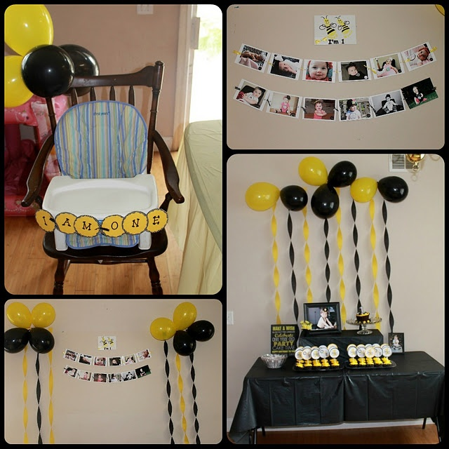 Yellow And Black Bumble Bee Theme By Johanna Tarin Gardner