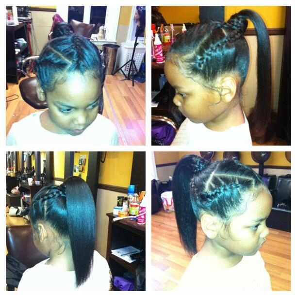 Groovy 1000 Images About Cute Kid Hair Styles On Pinterest Cornrows Short Hairstyles For Black Women Fulllsitofus