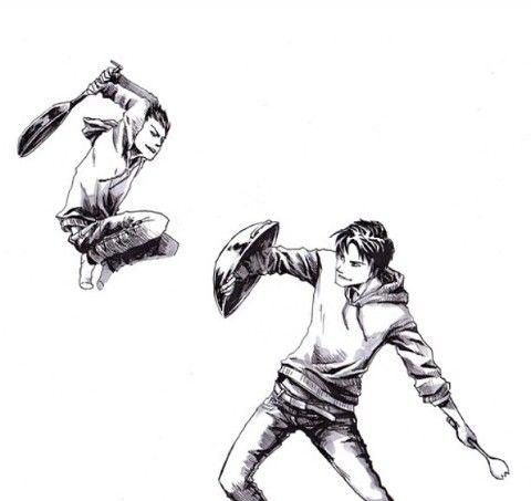Damian Wayne and Jason Todd
