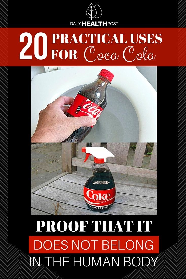 Coke is very close to the�acidity level of battery acid�and consequently it can clean surfaces equivalent to and often better than many toxic household cleaners.