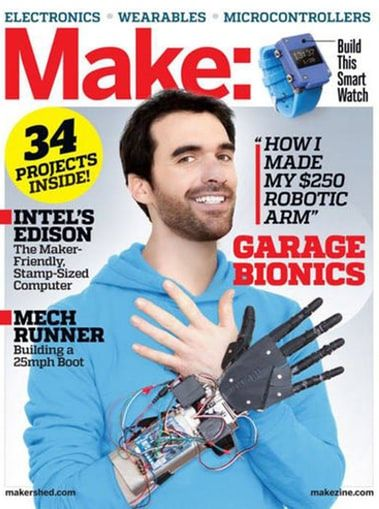 Make: Magazine (DIY Projects How-Tos Electronics) 1-Year Subscription for $18.99 #LavaHot http://www.lavahotdeals.com/us/cheap/magazine-diy-projects-tos-electronics-1-year-subscription/179224?utm_source=pinterest&utm_medium=rss&utm_campaign=at_lavahotdealsus